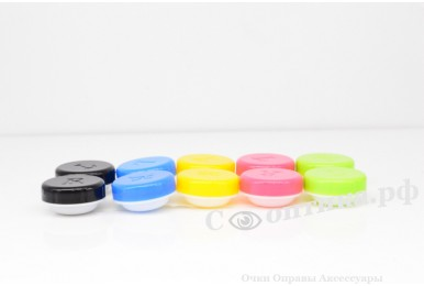 Контейнер для контактных линз (10шт) №5 (26х57х12 мм)
