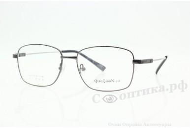 Оправа QiaoQiaoNiao 9919 сер (титановый заушник)